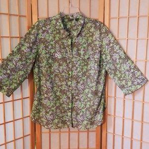 Eddie Bauer  shirt sz XL